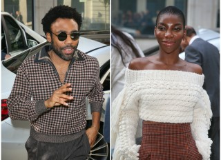 Donald Glover/Childish Gambino and Michaela Coel