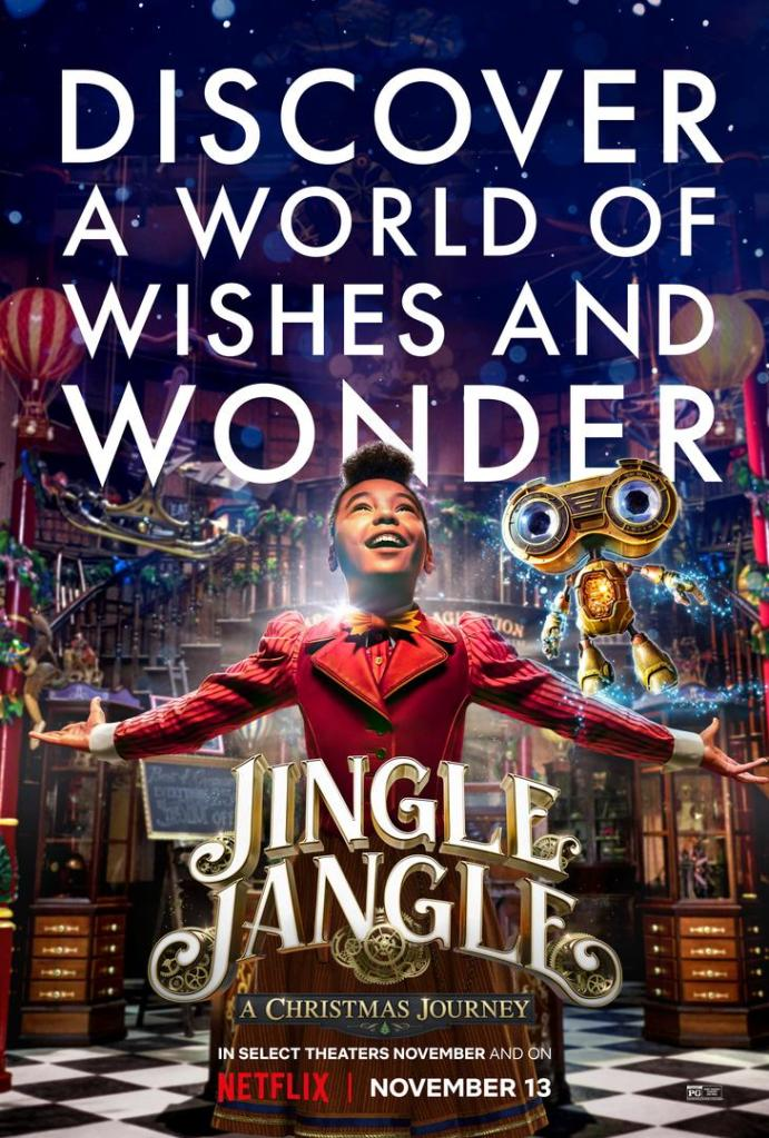 Key Art and Production Stills for 'Jingle Jangle: A Christmas Journey'