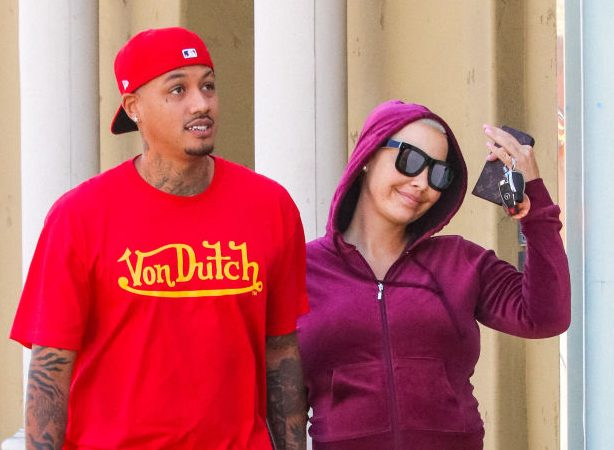 """Amber Rose Reveals """"How It Started"""" With Her Baby Daddy AE"""
