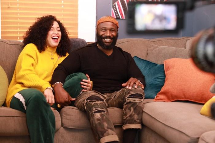 Black Love production still featuring Karega & Felicia Bailey