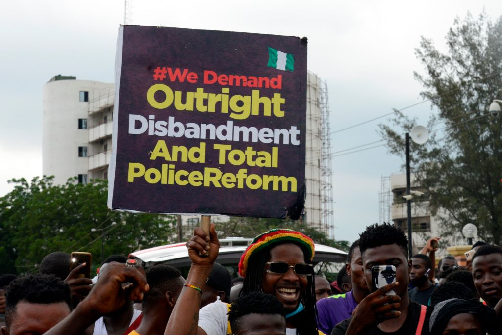 EndSARS Protest Against In Lagos