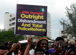 EndSARS Protest Against In Lagos