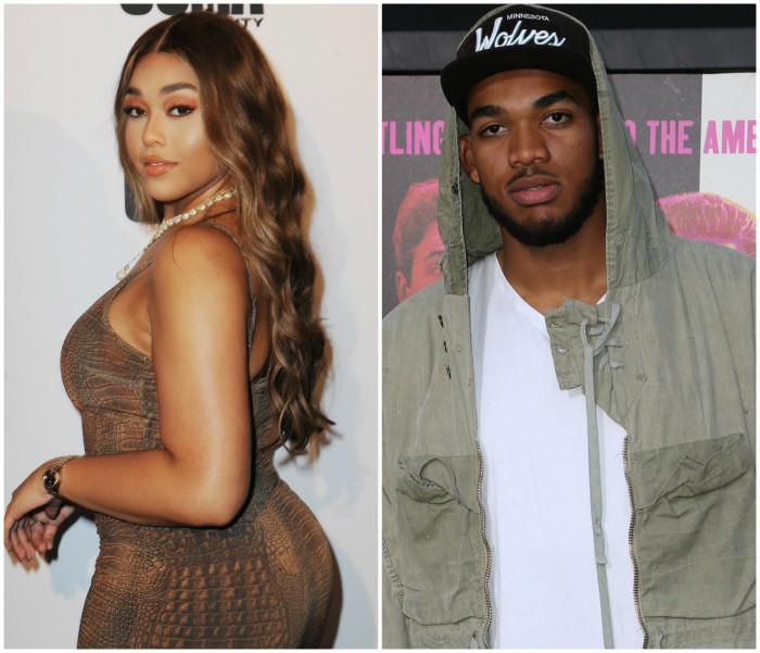 Jordyn Woods and Karl Anthony Towns