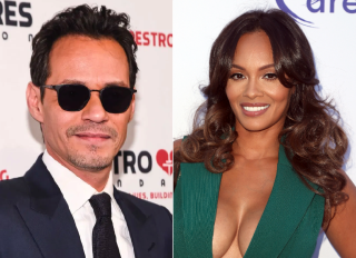 Marc Anthony And Evelyn Lozada