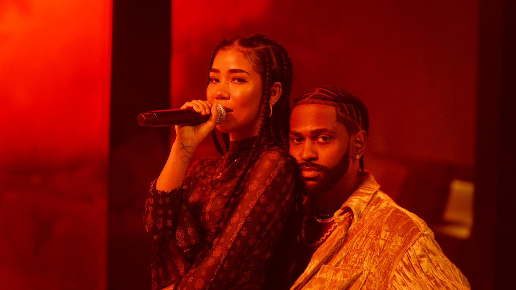 Big Sean and Jhené Aiko