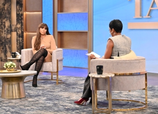 "Tamar Braxton is a guest on the ""Tamron Hall"" show"