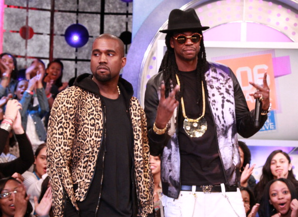 """Kanye West Visits BET's """"106 & Park"""""""