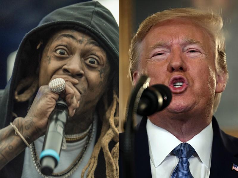 Donald Trump Lil Wayne