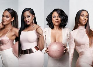 Basketball Wives Stars Shaunie O'Neal and Evelyn Lozada Jackie Christie Tami Roman and Malaysia Pargo