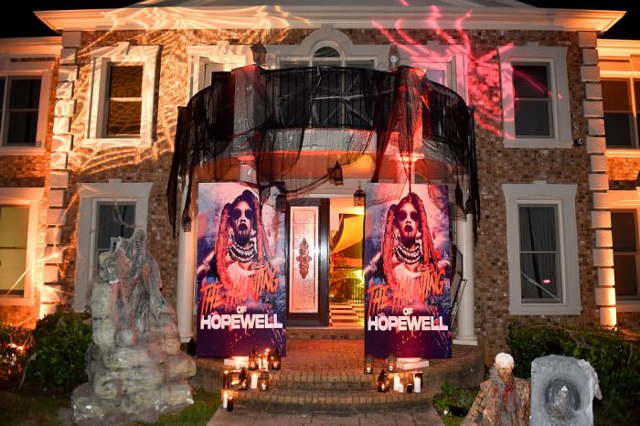 The Haunting Of Hopewell Hosted By Teyana Taylor, Iman Shumpert, Lori Harvey And Lala Anthony...