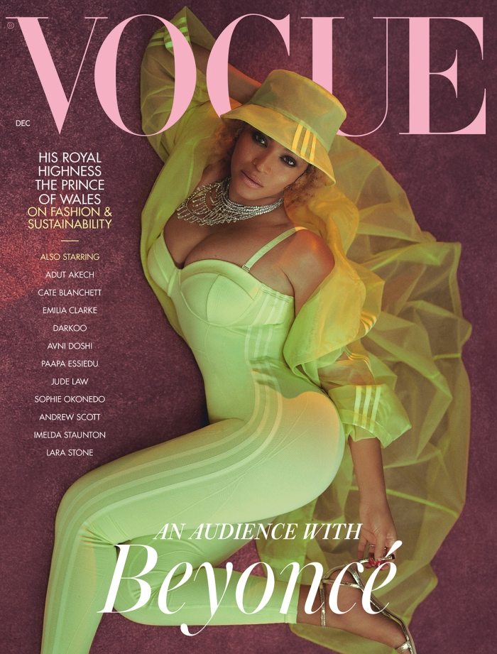 Beyonce for British Vogue