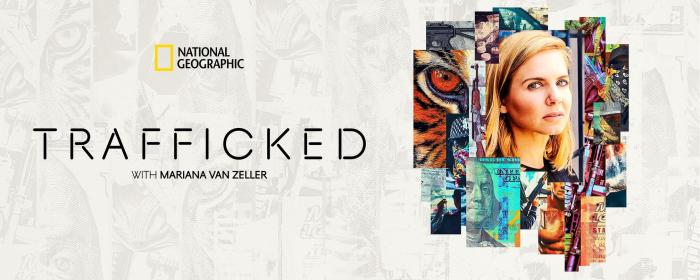 Key Art for National Geographic Docuseries Trafficked