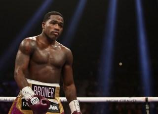 Boxer Adrien Broner