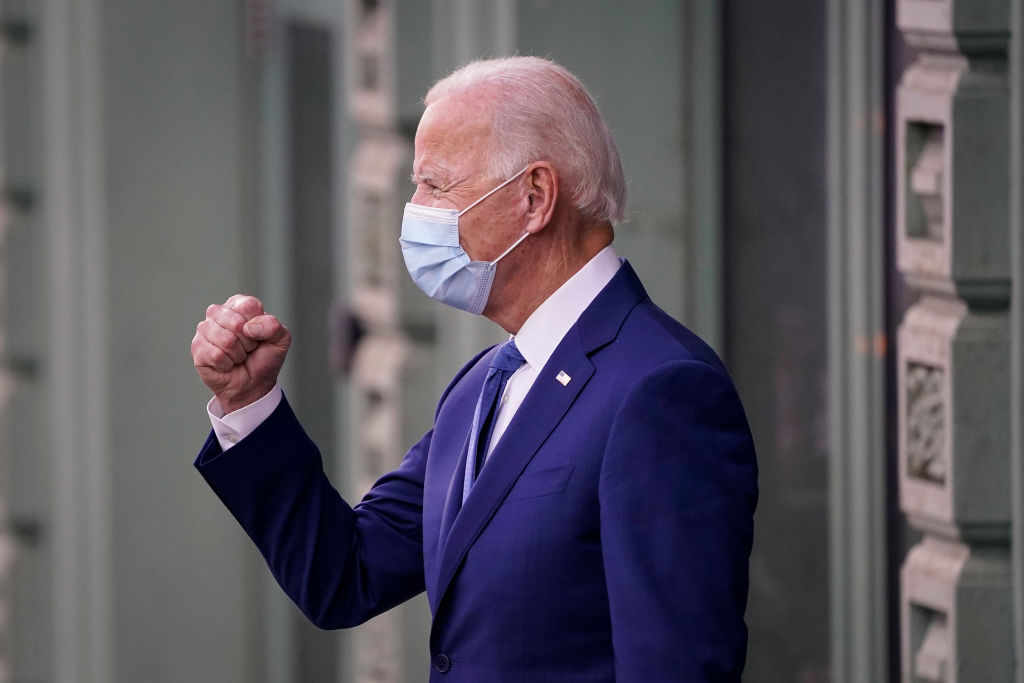 Joe Biden Delivers Remarks On Coronavirus In Delaware