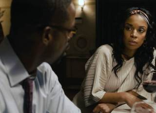"""This Is Us"" Episode 503 ""Changes"" still featuring Sterling K. Brown as Randall and Susan Kelechi Watson as Beth"