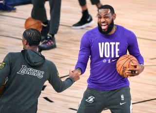 Lakers Heat finals
