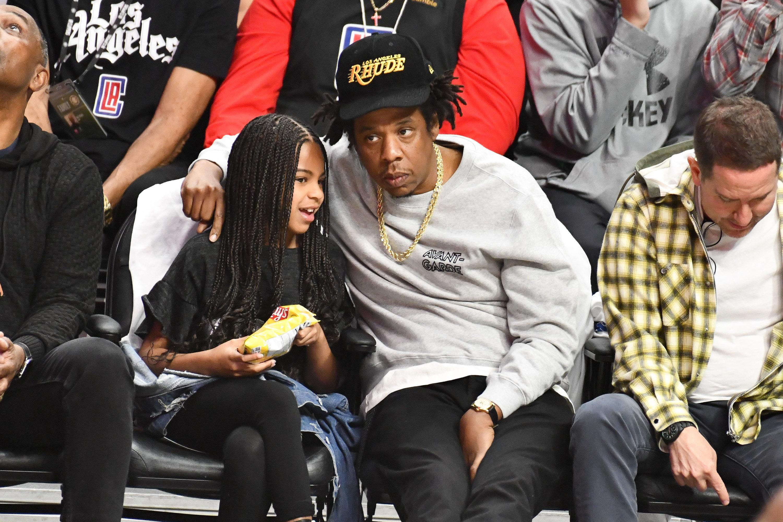 Blue Ivy & Jay-Z