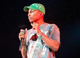 Pharrell Williams live in concert