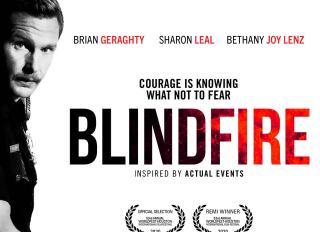 'Blindfire' key art
