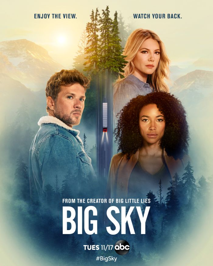 """Key art and Production stills for """"Big Sky"""""""
