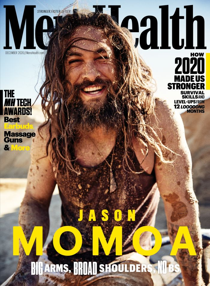 Jason Momoa covers Men's Health Magazine