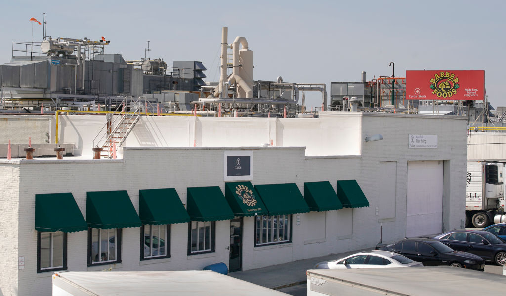 Chicken processing plant has six positive COVID-19 cases