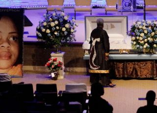Funeral Held For Woman Killed By Ft. Worth Sheriff's Deputy In Her Own Home