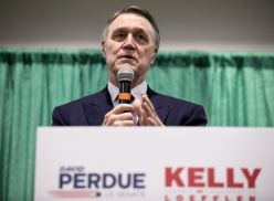 Kelly Loeffler And David Perdue Campaign For Georgia Runoff Election