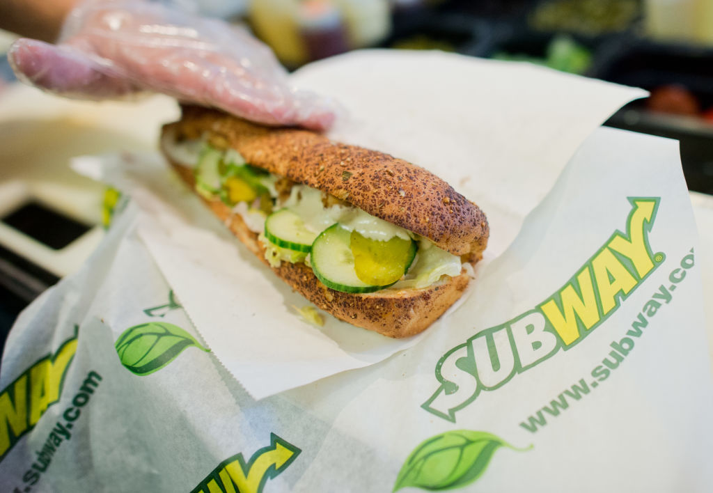 Subway celebrates 50th birthday