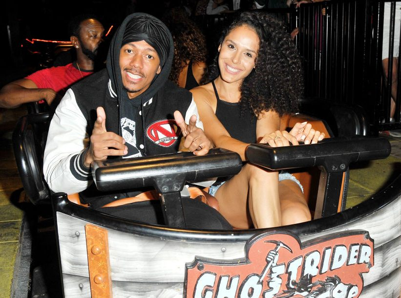 Nick Cannon Visits Knott's Berry Farm