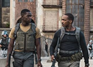 'Outside The Wire' first look photo