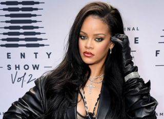 Rihanna's Savage X Fenty Show Vol. 2 presented by Amazon Prime Video Step and Repeat