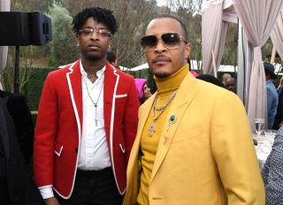 TIP & 21 savage at the roc nation brunch
