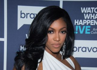 Porsha Williams At Watch What Happens Live with Andy Cohen - Season 14