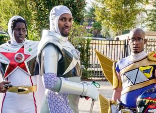 Florida, Orlando, Rangerstop Power Rangers Convention, superhero TV series, fans in costume