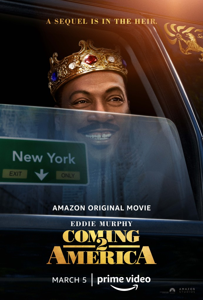 Coming 2 America Poster and Production Stills