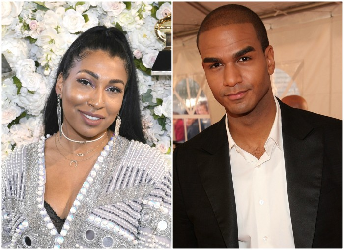 Melanie Fiona and husband Jared Cotter