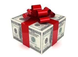 Money Gift - stock photo