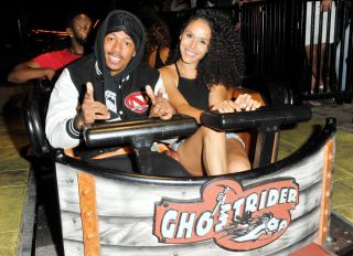 Brittany Bell & Nick Cannon