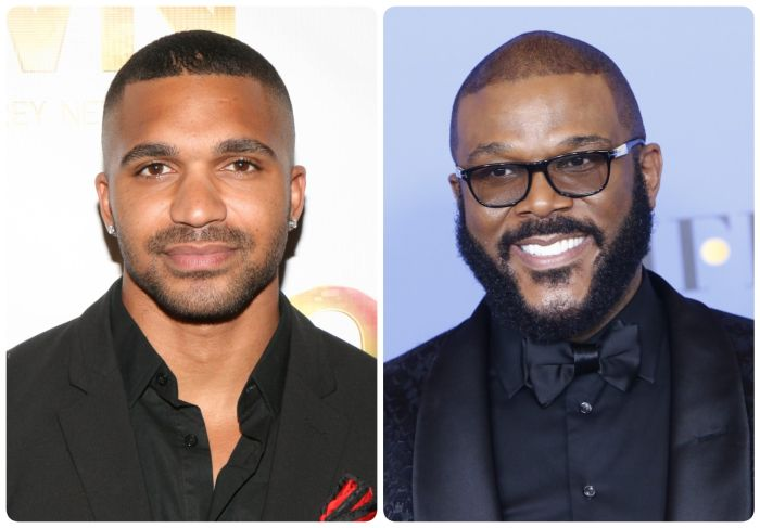 Tyler Lepley and Tyler Perry