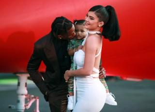 Kylie Jenner, Travis Scott & Stormi