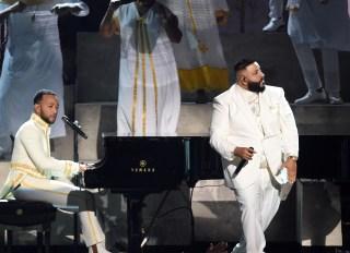 62nd Grammy Awards John Legend & DJ Khaled