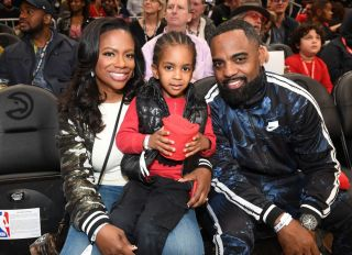 Celebrities Attend Denver Nuggets vs Atlanta Hawks
