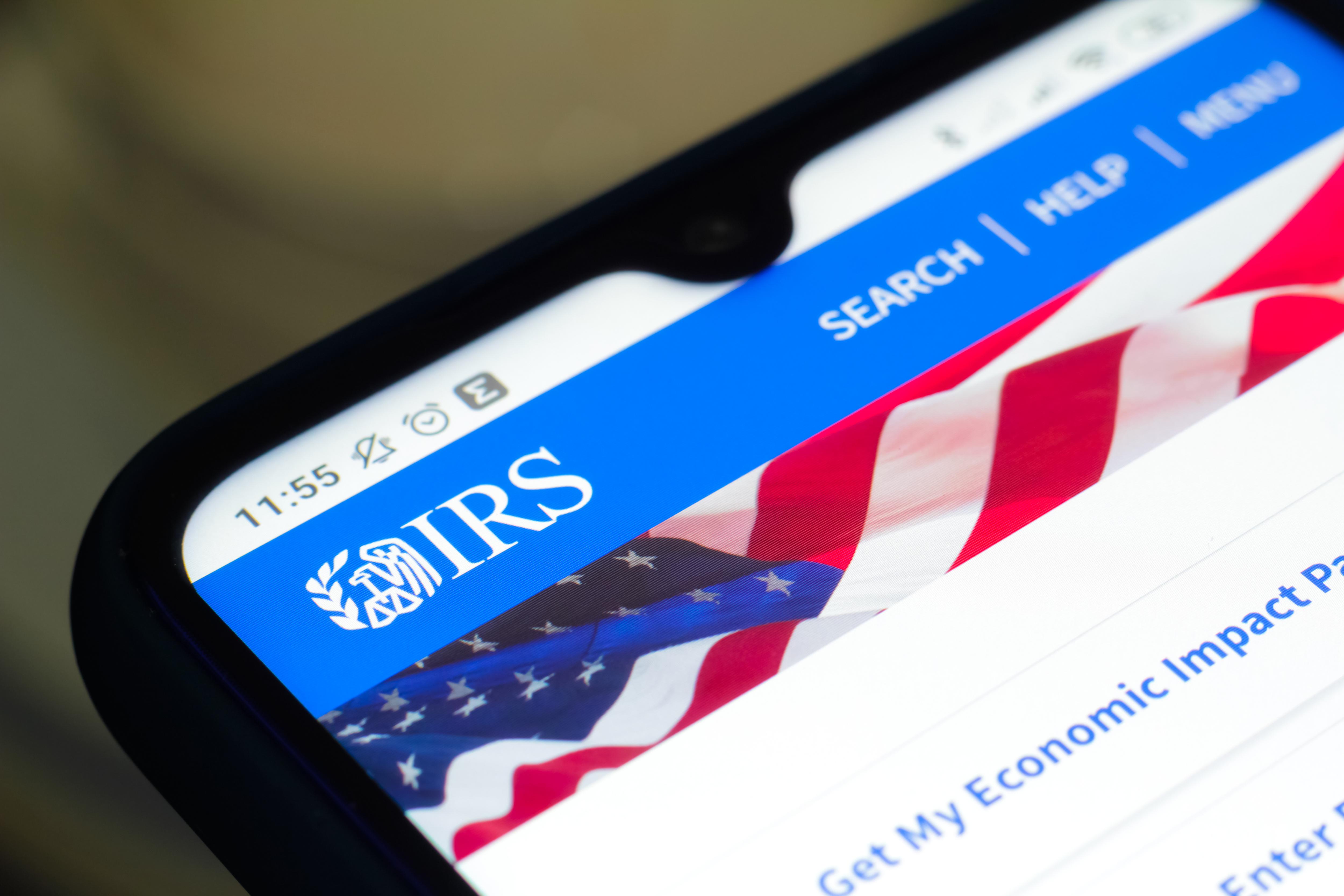 IRS stimulus Update
