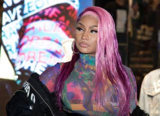 Nicki Minaj at the Diesel Store