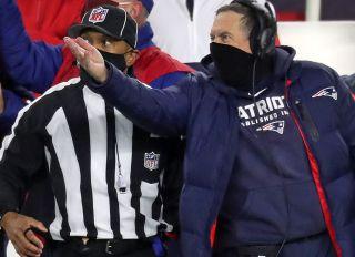 Buffalo Bills Vs. New England Patriots At Gillette Stadium