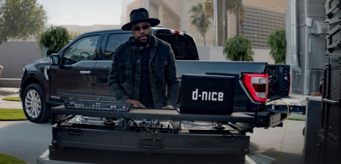 "D-Nice ""Work It Out"" ad from Ford F-150 ""More Than Tough"" campaign"