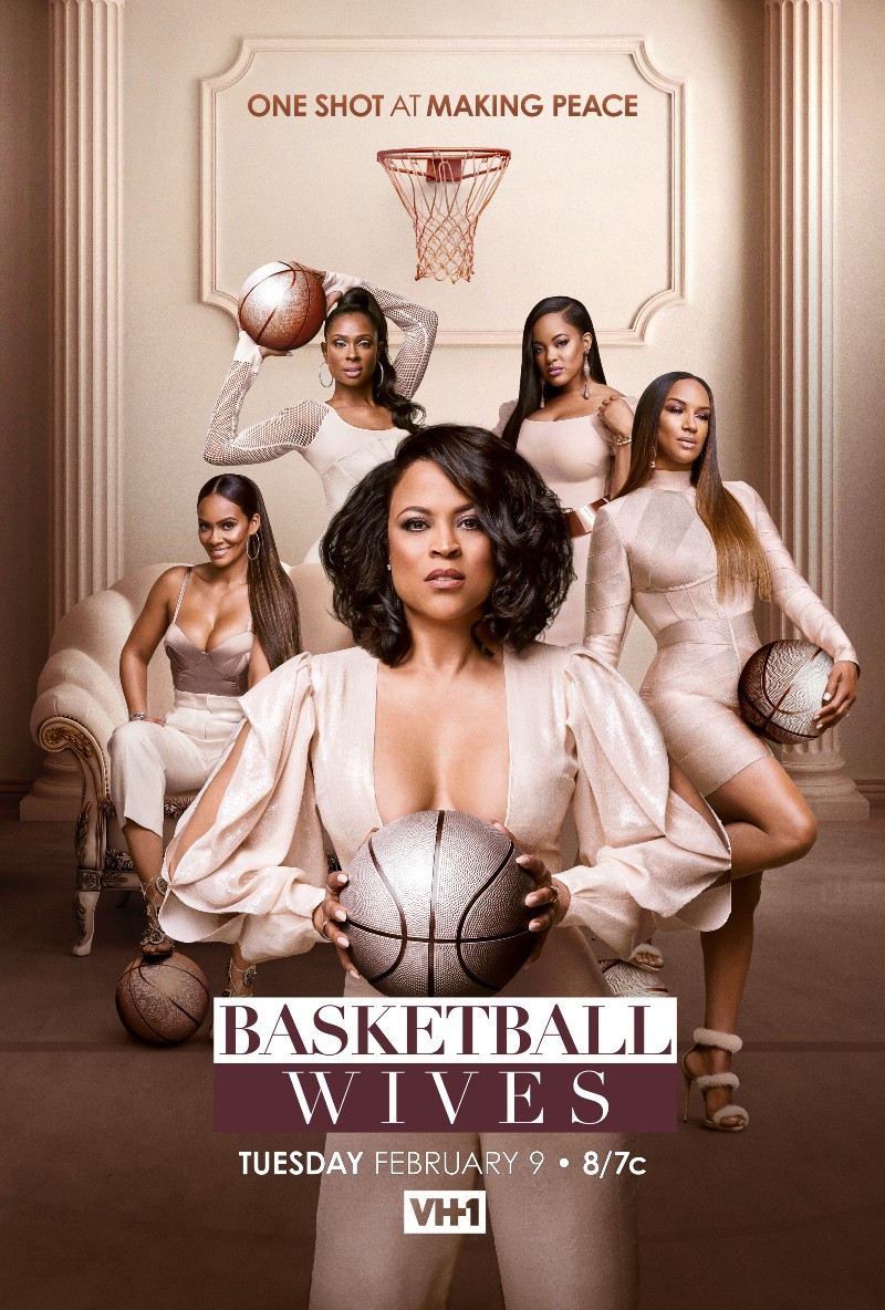 """""""Basketball Wives"""" Exclusive Clip: Guess Which Famous For Feuding Friends Will Kiss And Make Up?"""
