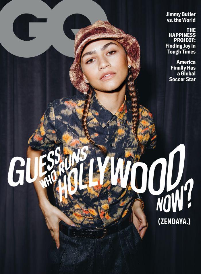 Zendaya Coleman GQ Magazine cover