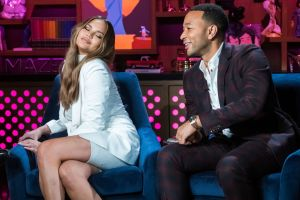 Chrissy Teigen and John Legend on Watch What Happens Live With Andy Cohen - Season 16